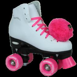 Kids Pink Roller Skates